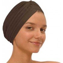 Brown Fashion Turban Funky Headwrap