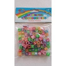 20 X Packs Of Alphabet Loom Band Beads (Colourful Colours)