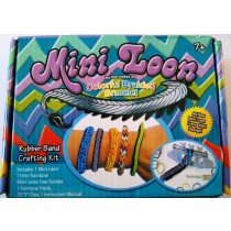 Mini Loom Fish Tail / Monster Tail Kit With Mini Rainbow 600 Bands And Pro Tool