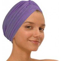 Purple Fashion Turban Funky Headwrap