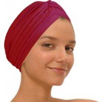 Red Fashion Turban Funky Headwrap