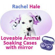Dalmation Rachel Hale Contact Lens Soaking Case