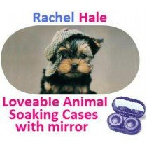 Puppy In a Hat Rachel Hale Contact Lens Soaking Case