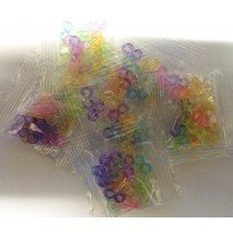 5 Packs of 24 S Clips For Loom Bands