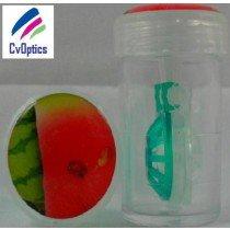 Water Melon Fruit Contact Lens Storage Soaking Barrel Case