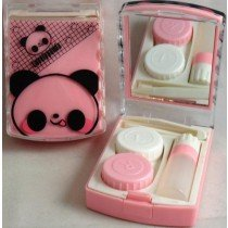 Lovely Panda Contact Lens Storage Soaking Travel Kit