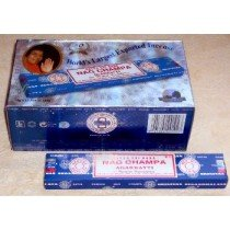 6 x Boxes Sai Baba Satya Nag Champa Incense Sticks (15g)