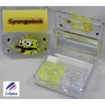 Spongebob Square Pants Contact Lens Travel Kit / Case s