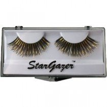 Stargazer Reusable False Eyelashes Black & Gold Foil 3