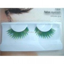 Stargazer Reusable False Eyelashes Green and Blue 51
