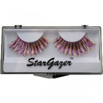 Stargazer Reusable False Eyelashes Purple & Gold Hologram Foil 23