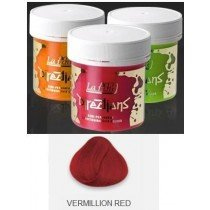 Vermillion Red Directions Semi Perm Hair Dye By La Riche