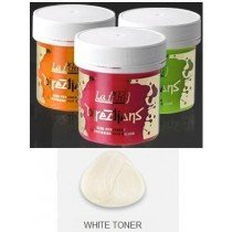 White Toner Directions Semi Perm Hair Dye By La Riche